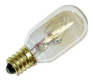 - Westinghouse Appliance Light Bulb 15 W 108 Lumens T7 Candelabra Clear Carded pack of 10