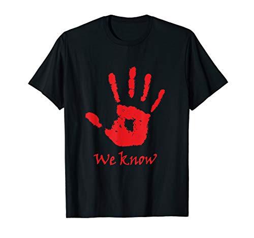We know t-shirt men women