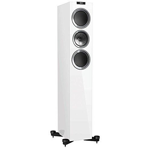 KEF R500 Floorstanding Loudspeaker - Gloss White (Pair)