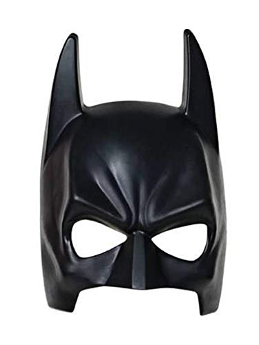Batman The Dark Knight Rises Mask, Black, Adult