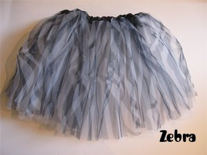 Zebra Ballet Tutu - Zebra Boutique