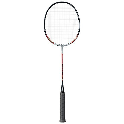 Yonex Muscle Power 3 Badminton Racket (Already Done It Is Tension of the String Mp3f) Silver / Red 2015 New Design – DiZiSports Store