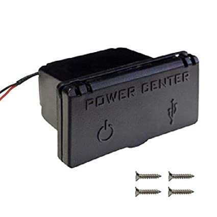 Amazon.com: Power Center - Cargador para carro de golf (12 V ...