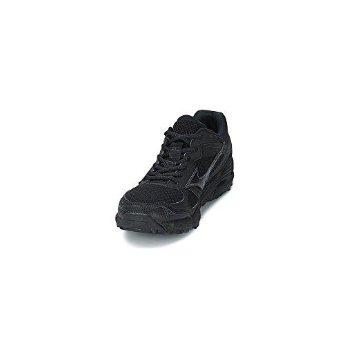 Mizuno - Mizuno Wave Kien 2 Scarpe Running Nere Pelle Tela 157309 - Negro, 38,5 Negro - 09 Black/B
