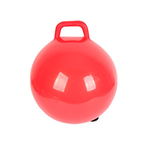 Inflatable Hopping Ball Handle Fitness