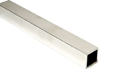 ZORO SELECT 6ALL7 Square Bar,Aluminum,6063,3//4x3//4 In,8 ft
