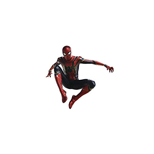 Officially Licensed Spider - FATHEAD Iron Spider-Avengers: Infinity War-Life-Size Officially Licensed Marvel Removable Wall Decal, Multicolor