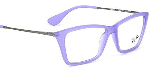 Ray-ban Rx Eyeglasses Frames Rb 7022 5368 52x14 Lilac - Purple Ray Eyeglasses Bans