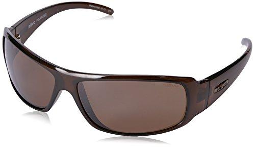 Revo Re 5010x Gunner Wraparound Polarized Wrap Sunglasses, Crystal Brown Terra, 66 - Wrap Sunglasses Amazon Around