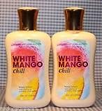 Bath & Body Works White Mango Chill Gift Set Lot of 2
