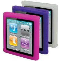 Scosche glosSEE 3-Pack Skins Screen Protector for iPod nano 6G