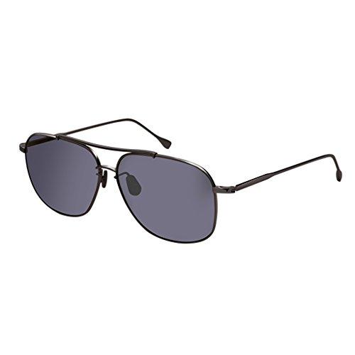fac0a73549 HAIYING Gafas De Sol Para Hombre - Gafas De Protección Antideslumbramiento  UV 400 Protección Gafas De Sol Retro Diseño De Época Gafas De Metal De  Aleación ...
