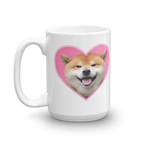 Doggo Stickers: Shiba Pack 15 Oz White ()