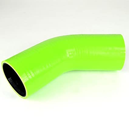 Leg Length 102mm Yellow with Black Liner Demon MotorSport 30mm 1.18-45 Degree Silicone Hose