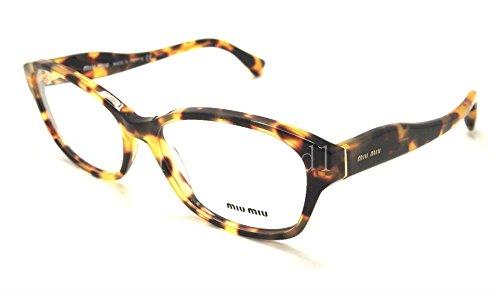 - Miu Miu MU03IV Eyeglasses-7S0/1O1 Medium Havana-55mm