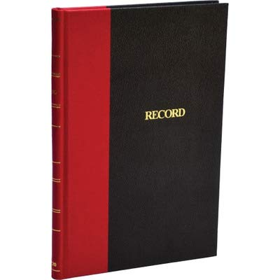 Wilson Jones - Account Book, Record-Ruled, 144 Pages, 7-7/8quot;x5-1/4quot, BK/RD, Sold as 1 Each, WLJ ER20 by Wilson Jones by Wilson Jones