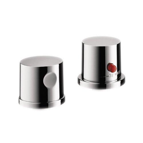 Axor 38480001 Uno Thermostatic Tub Filler Trim in Chrome