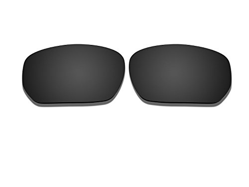 Black Polarized Replacement Lenses for Oakley Style Switch - Switch Lenses Oakley