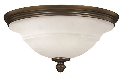 Hinkley Lighting Plymouth Olde Bronze Bath / Flush Mount w/ 3 Light 60W (Bath Plymouth Lighting)