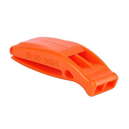 fghdf Portable de Survie en Plein air de Secours durgence Sifflet en Plastique avec Clip