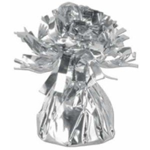 Silver Metallic 6oz Balloon Weight, 6 Per