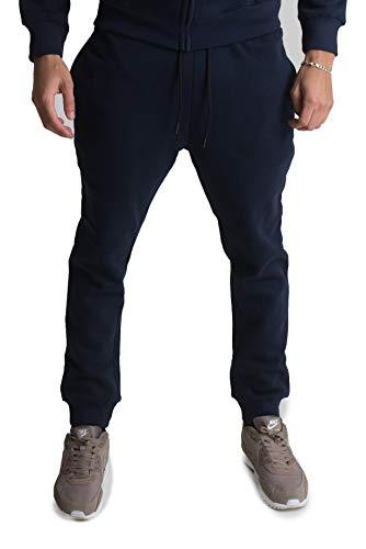 Hommes Pantalons De Marine Survêtement Bleu Jogging Pour PrrxwtCq