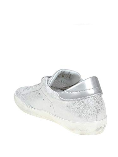 Clldxm07 Pelle Model Argento Donna Philippe Sneakers qntFSx6