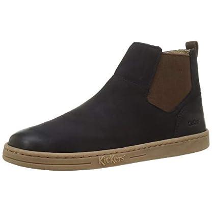 KICKERS Women's Tackbo Ankle Boot, MARINE, 3 UK 1