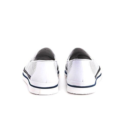 Kemal Tanca Herren Slipper Freizeitschuh Elegant Bequm Leicht Premium Leder Echtleder Schuhe Sommerschuh Sommerlich, Sneaker Gelöchert Design