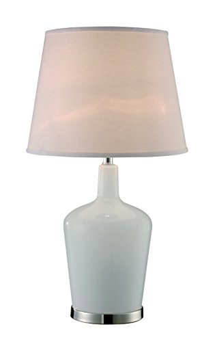 Opal Jug - Trans Globe Lighting RTL-8890 Opal Jug Table Lamp, 15.75
