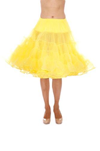 Dance Petticoat Pettiskirt Underskirt Tutu Crinoline by Malco Modes Yellow