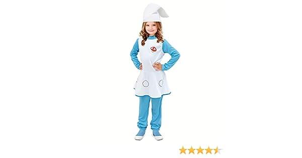 Disfraz Duende Azul para niña (7-9 años) (+ Tallas) Carnaval ...
