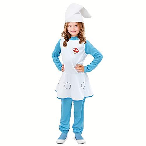 Disfraz Duende Azul para niña (10-12 años) (+ Tallas ...