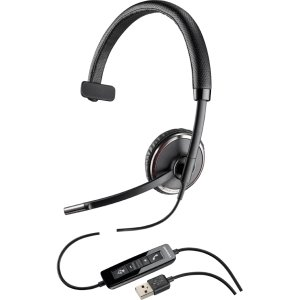 PLNC510 - Blackwire C510 Monaural Over-the-Head Corded Headset by Plantronics