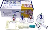 Kangzhu 6-Cup Biomagnetic Chinese Cupping Therapy Set, Health Care Stuffs