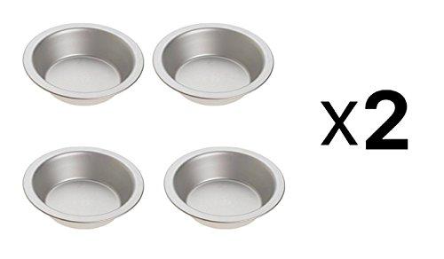 Norpro 3711 Tin Pie Pan, Set of 4 (2) by Norpro