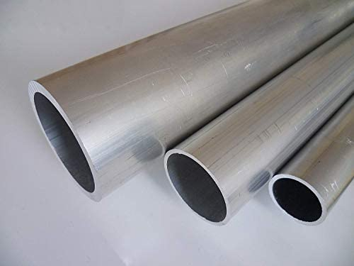 modello fino a 1,5 m. Tubo di alluminio AlMgSi0,5 tubo rotondo profilo di alluminio