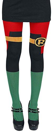 [Batman Robin Tights Multicolour] (Comic Cosplay Costumes)
