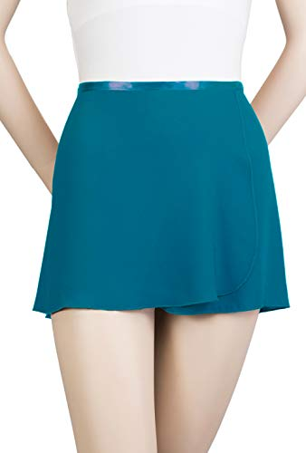 Trienawear Womens Girls Ballet Skirt, 12