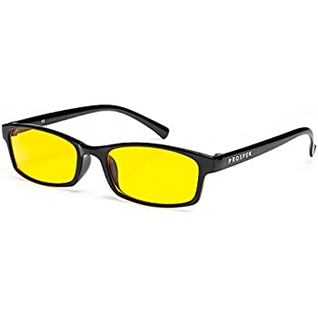 PROSPEK COMPUTER GLASSES: Anti Blue Light Computer Glasses Elite. Anti-glare,anti-reflective,anti-fatigue, UV and Computer/TV Electromagnetic Radiation Protection, Anti Fog, Scratch Resistant