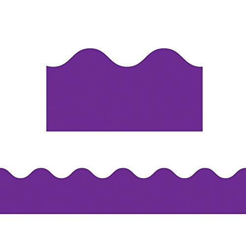 Carson Dellosa Purple Scalloped Borders -