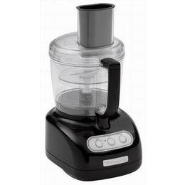 KitchenAid KFP720OB 7-Cup Food Processor with 3-Cup Mini Bowl, Onyx Black
