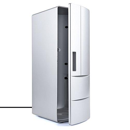 Corsion Portable USB Desktop Mini Refrigerator Beverage Cooler Freezer Fridge by Corsion