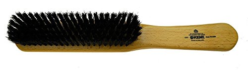 Kent CG1 Handcrafted Clothes Brush, Black Bristle
