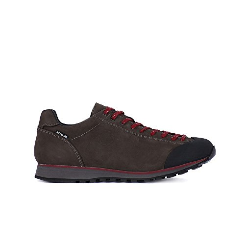 LOMER SONDRIO MTX Sneaker Con Suola In VIBRAM Impermeabile, Stringata UOMO Grigio