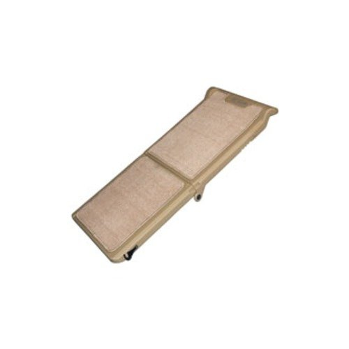 Carpeted Ramp (Pet Gear Indoor/Outdoor Bi-fold Half Ramp - Tan (PG9050TN))