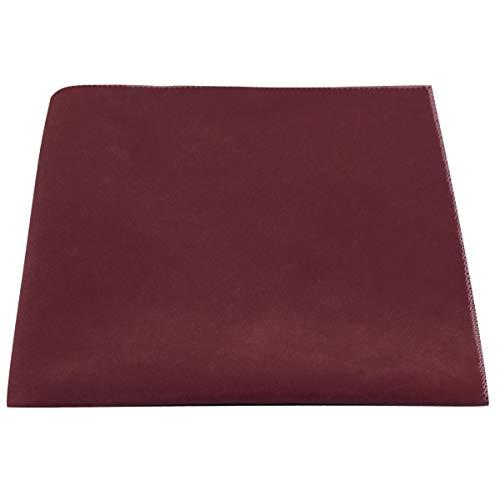 Luxury Burgundy Velvet Pocket Square