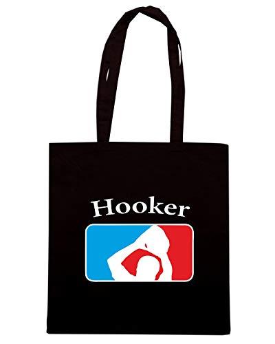 Speed Shirt Borsa Shopper Nera OLDENG00733 YOUR FAVORITE HOOKER