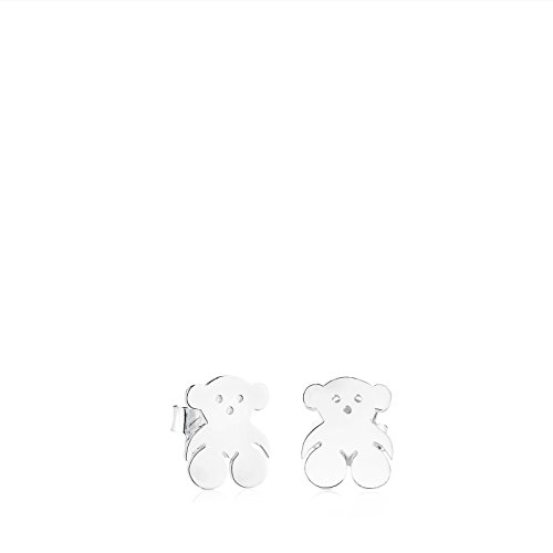 (TOUS Bear 925 Silver Earrings)