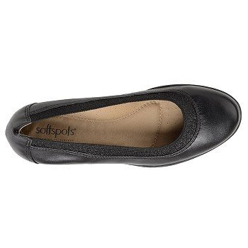 Softspots Stephanie Ii Womens Wedge, Black - 9 2a (n) Us